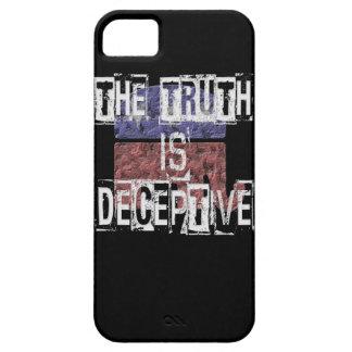 Die Wahrheit ist trügerisches 1 iPhone 5 Schutzhüllen