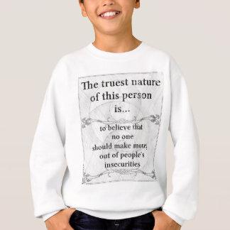 Die wahrste Natur: machen Sie Sweatshirt