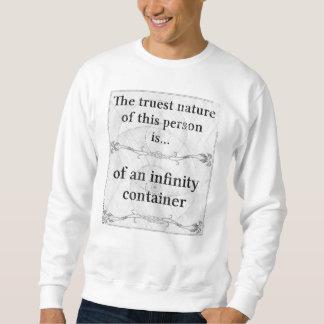 Die wahrste Natur…, zum von Unendlichkeit zu Sweatshirt