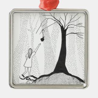 Die Waldhunger Silbernes Ornament