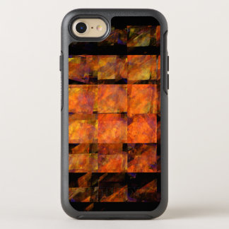 Die Wand-abstrakte Kunst OtterBox Symmetry iPhone 8/7 Hülle