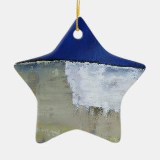 Die Wand Keramik Stern-Ornament