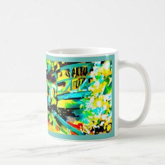 """""""Die Wasserlilien heute """" Kaffeetasse"""