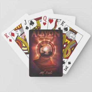Die weckenden Abdeckungs-Spielkarten Spielkarten