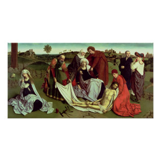Die Wehklage über dem toten Christus Poster