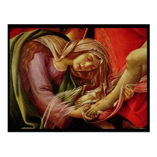 Die Wehklage von Christus Postkarte