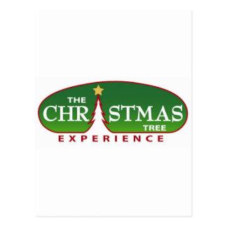 Die Weihnachtsbaum-Erfahrung Postkarte