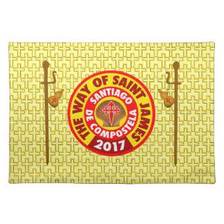 Die Weise von St James 2017 Stofftischset