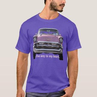 """""""… die Weise zu meinem Herz"""" '57 Chevy Bel Air T - T-Shirt"""