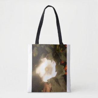 Die weiße Blumen-Taschen-Tasche Tasche
