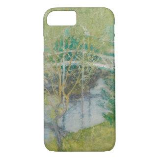 Die weiße Brücke, c.1895 (Öl auf Leinwand) iPhone 8/7 Hülle