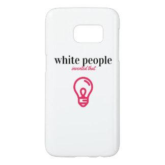 die weißen erfundenen Leute dass - rufen Sie Fall