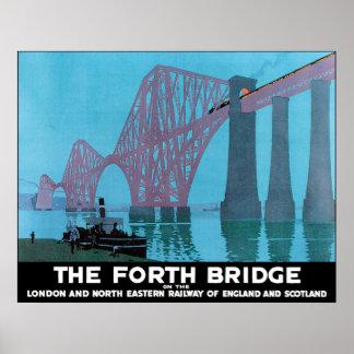 Die weiter Brücke Posterdrucke