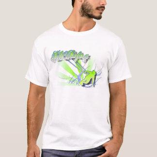 Die Welle. Surfendes Shirt des Drachens