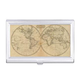 Die Welt 2 Visitenkarten Dose