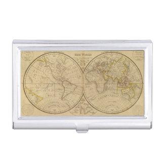Die Welt 3 Visitenkarten Etui