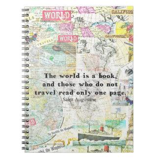 Die Welt ist ein Buch REISE-ZITAT