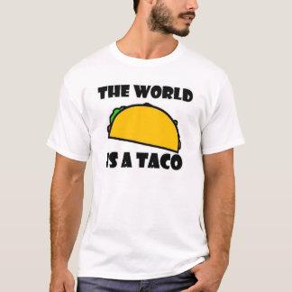 Die Welt ist ein Taco T-Shirt