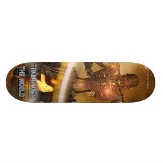 Die Welt übernehmen - Skateboard - Cyborg Skateboarddeck