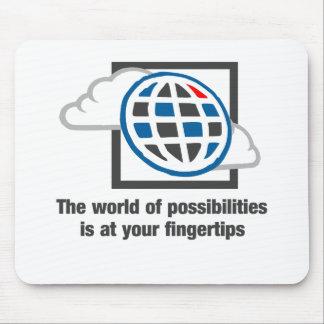 Die Welt von Möglichkeiten ist an Ihren Mousepad