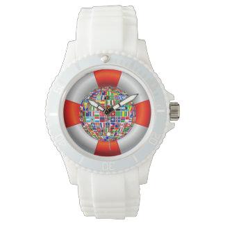 Die Weltflüsse Armbanduhr