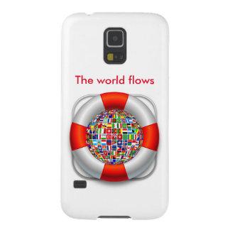 Die Weltflüsse Samsung Galaxy S5 Hüllen
