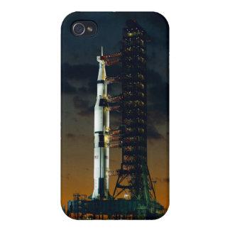Die Weltraumrakete Saturns V NASA iPhone 4/4S Case