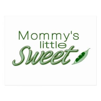 Die wenige süße Erbse der Mama Postkarte