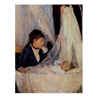 Die Wiege durch Berthe Morisot Postkarte