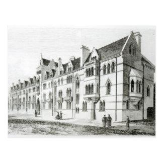 Die Wiesen-Gebäude, Christus-Kirche, Oxford Postkarte