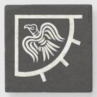 Die Wikinger-Raben-Fahnen-Flagge Steinuntersetzer