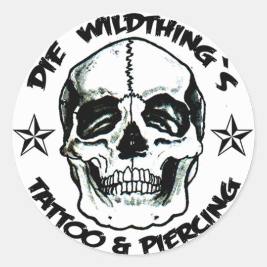 Die Wildthing`s Runder Aufkleber