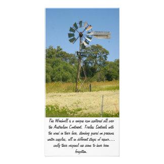 Die Windmühlen-Fotokarte Photokarte