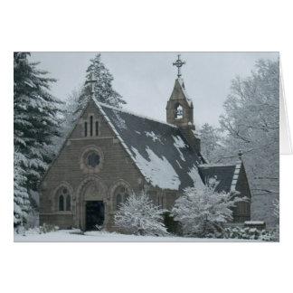 Die Winter-Kapelle Karte