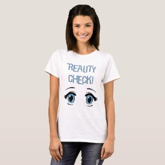 Die Wirklichkeits-Karospaß T-Shirt der Frauen.