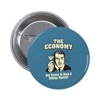 Die Wirtschaft: Mittag Martini Runder Button 5,7 Cm