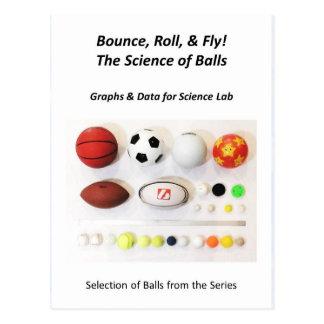Die Wissenschaft der Ball-Postkarte Postkarte