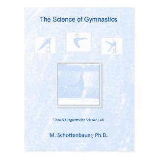 Die Wissenschaft von Gymnastik Postkarte