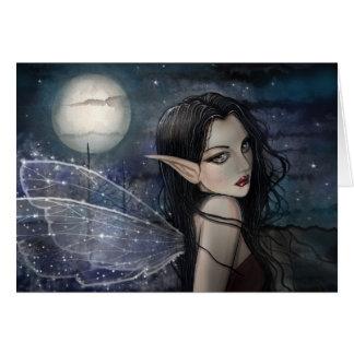 Die Witching Stunden-gotische feenhafte Karte