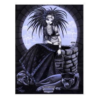 Die wohle Stammes- Fusions-Wasser-Panther-Postkart Postkarten