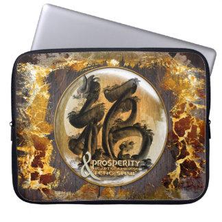 DIE WOHLSTANDS-VERBINDUNG: Kunst des chinesischen Laptopschutzhülle