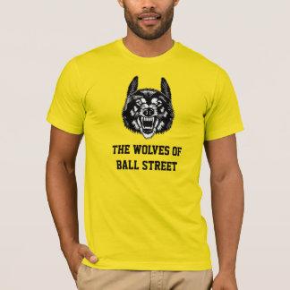 Die Wölfe der Ball-Straße gefärbt T-Shirt