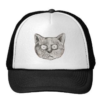 Die wütende Katze Retrokultmütze