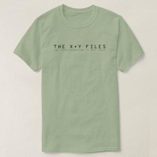 Die x- und y-Dateien: Die Umwandlung ist dort T-Shirt