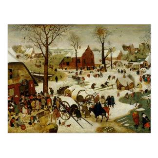Die Zählung in Bethlehem Postkarten