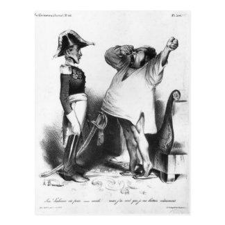 Die Zählung Villaflor, das Pedro-Kaiser Brasilien Postkarte