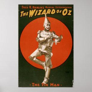 Die Zauberer- von Ozzinn-Mannanzeige Poster