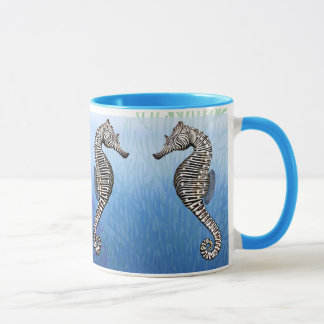 Die zebra-SeepferdeTasse Tasse