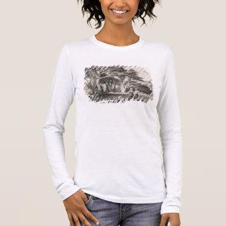 Die Zedern vom Libanon, graviert von Freeman Langarm T-Shirt