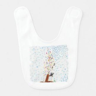 Die Zeichnungen des Tincas. Weihnachtsbaum Lätzchen